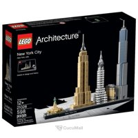 Construction sets for children LEGO Architecture 21028 Нью-Йорк
