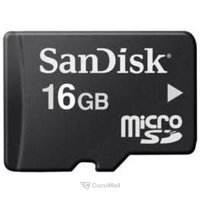 Memory card, USB Flash SanDisk microSDHC 16Gb